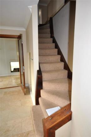 Stairs To Upper From