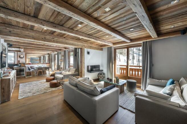 Multiple balconies,