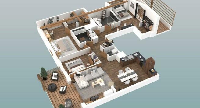 Example apartment la