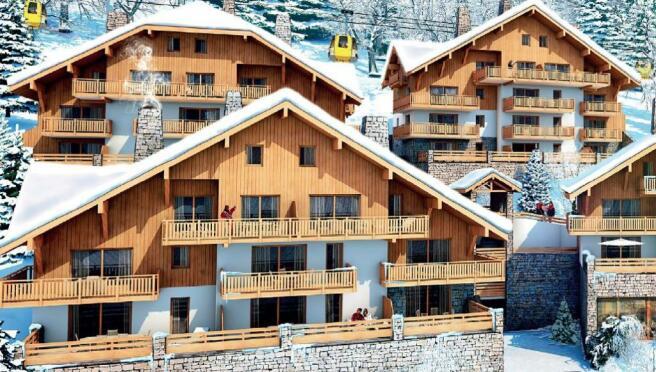 Vaujany apartments f
