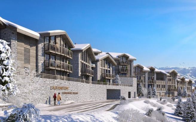 The Courchevel prope