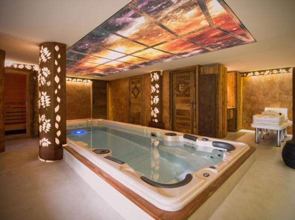 Relaxation, spa area