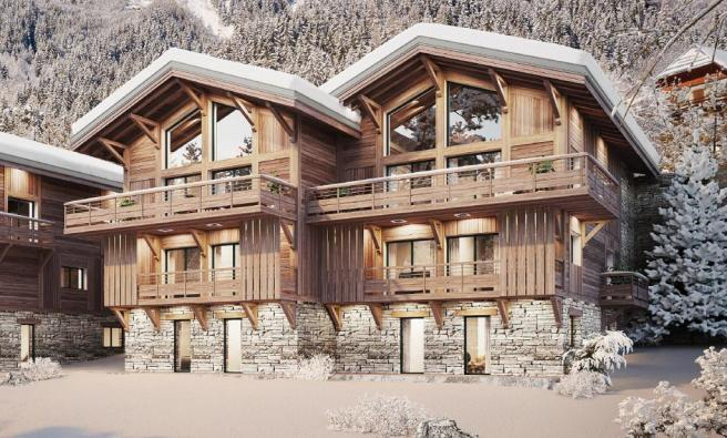 The luxury chalets f