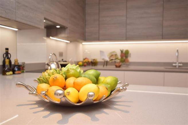 Show Home Kitchen Feature