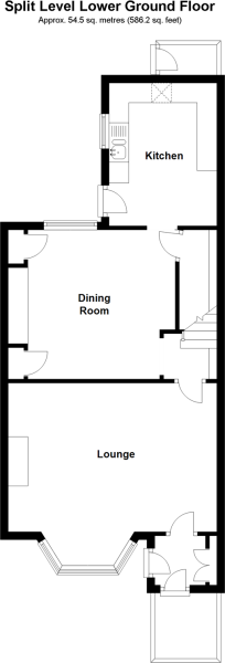 Split Level Lower Ground Floor