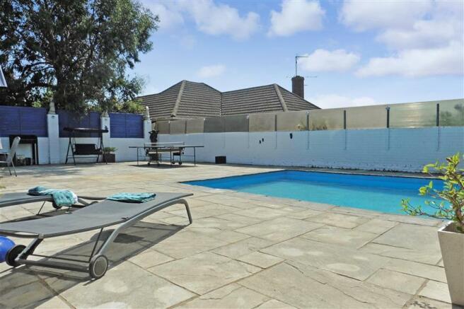 Rear Garden/Pool