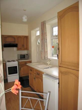 separate accommodation - kitchen