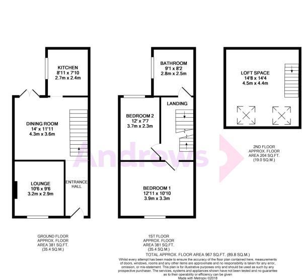 4 Exmoor Street floorplan