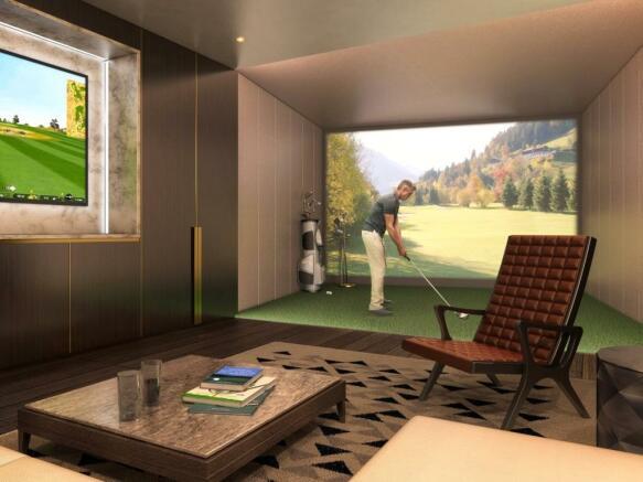 Virtual Golf Room