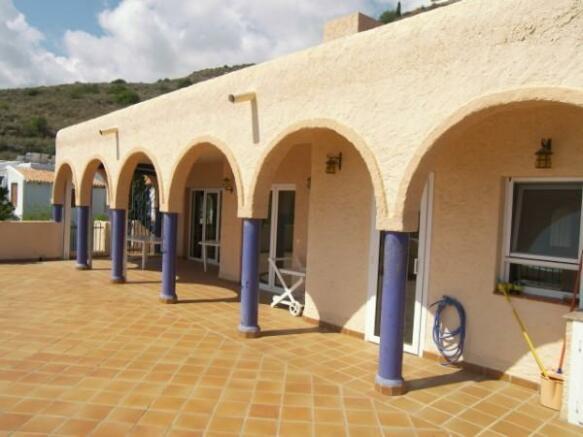 Main terrace