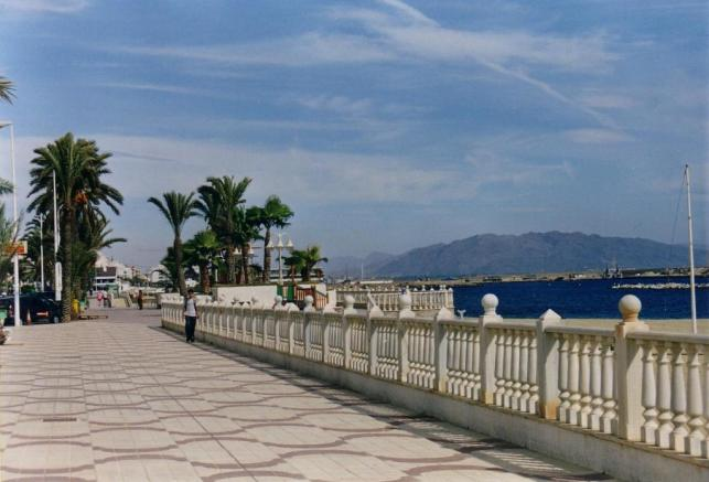 Local promenade