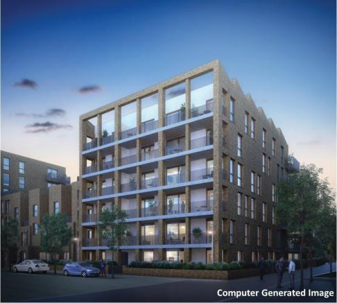 Brentford Lock West New Homes Development by Waterside Places