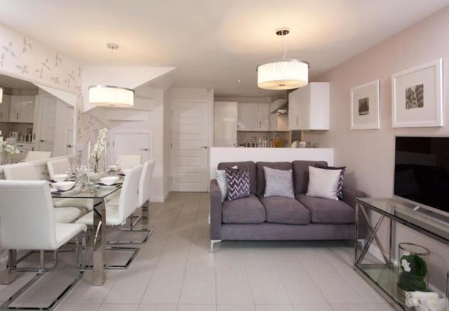 Helmsley kitchen/family area