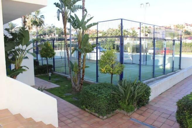 Tennis court onsite