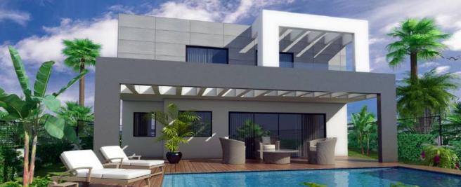External of villa