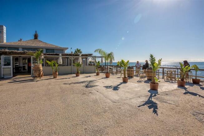 Nearest beach bar