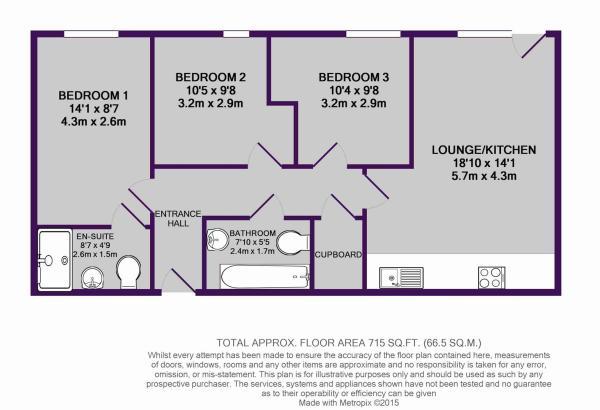 51 Riley Building, Derwent Street, M5 4TA - floor
