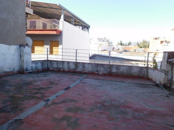 West facing terrace