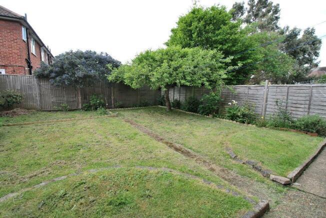 Westerly Facing Garden