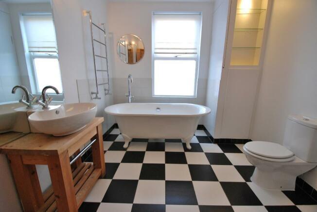Luxurious Family Bath & Shower Room