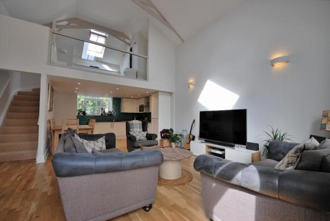 Open-Plan Living Spaces