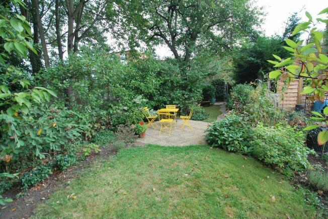 Wonderful Westerly Facing Garden