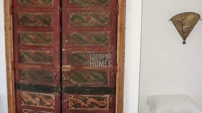 Antique wardrobe doors