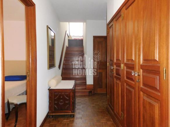 Hallway and Stairs to Master Bedroom