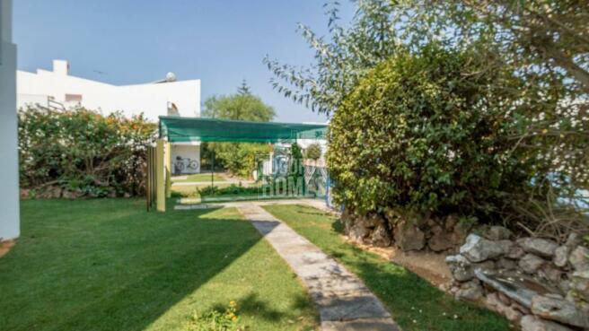 Carport and Garden