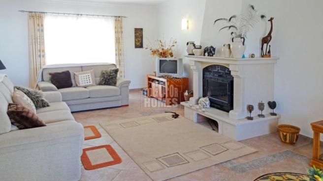 Entrance level - living room