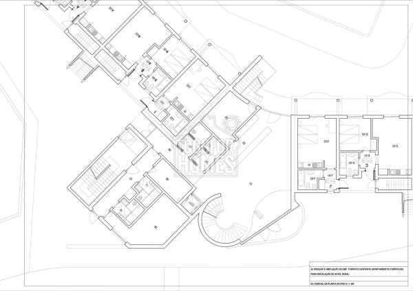 Parcial of project ground floor