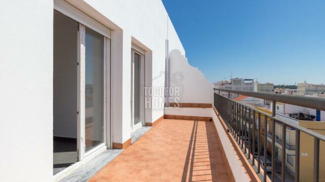 Terrace - 1 bedroom apartment