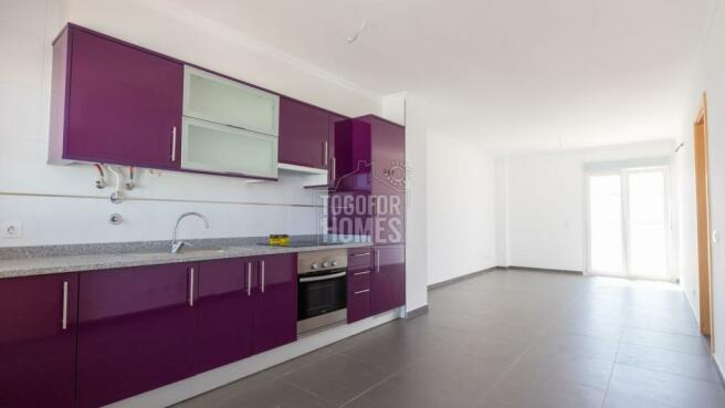 Kitchen - 1 bedroom apartment