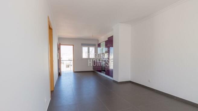 Living Room - 1 bedroom apartment