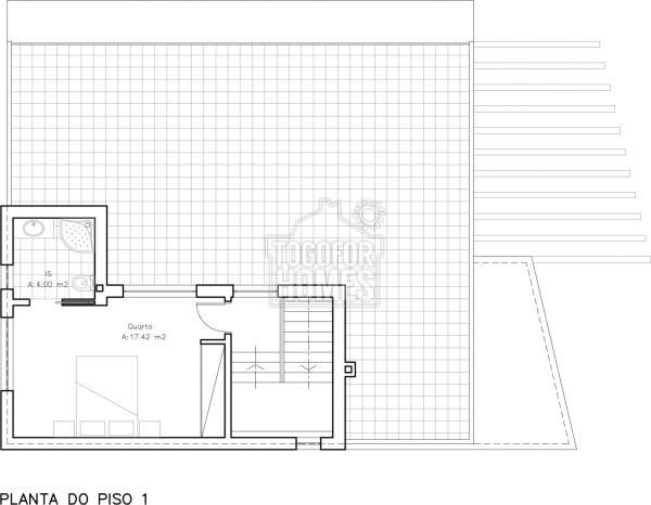 TV1284 Floor plan 2 First floor