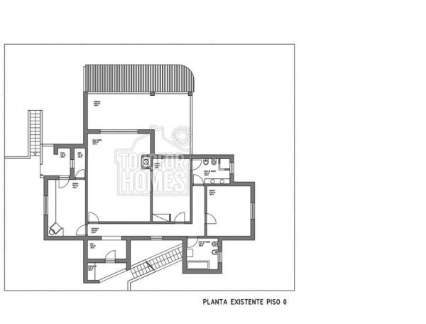 Planta 0  Existente Casa Mocho