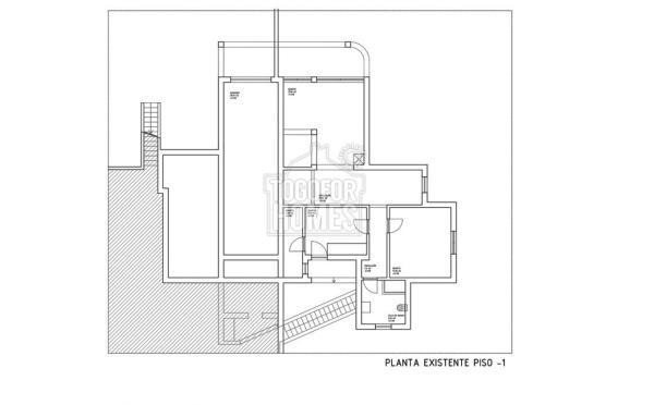 Planta  1  Existente Casa Mocho