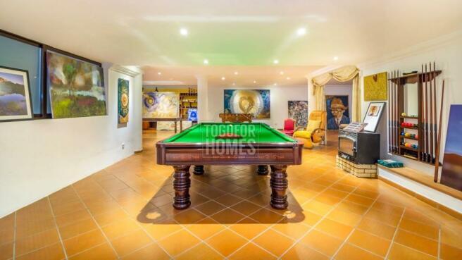 Basement - Games Room