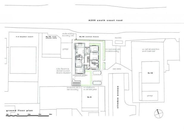 Proposed ground floor site plan
