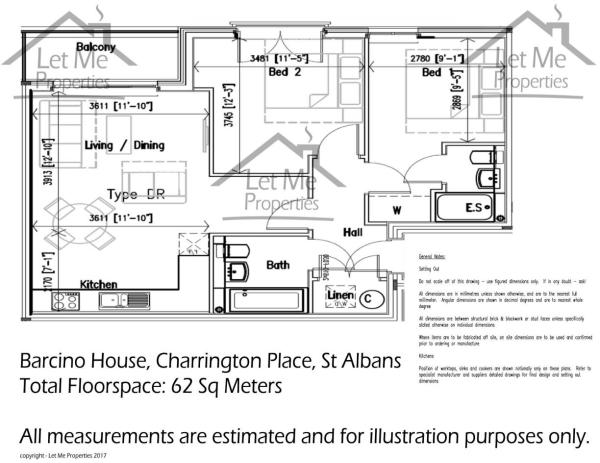 Floor Plan - 62 Barc