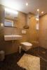 Shower walk-in tiled floor bathroom Chalet Im Maad Verbier