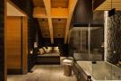 Bathroom hot tub treatment area Andermatt Chedi Residences