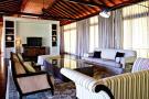 Living sitting room modern wood Four Seasons Seychelles