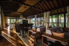 Sitting room at Kokomo in the Seychelles