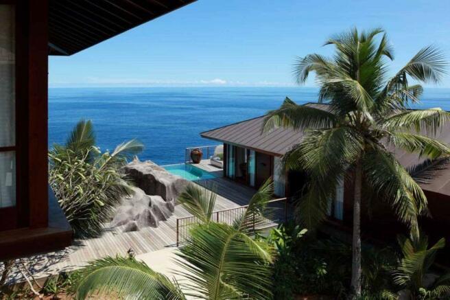 Ocean sea view Kokomo at Four Seasons Seychelles