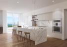 Kitchen wood floor breakfast bar marble Fasano Shore Club South Beach Miami Florida