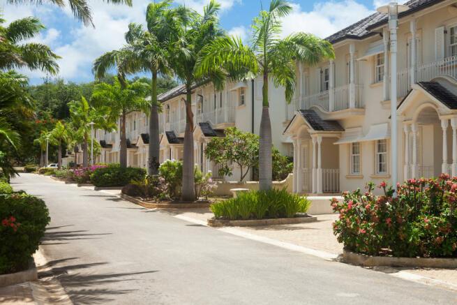 Street view parking Battaleys Mews St Peter Barbados