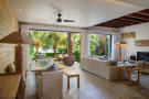 Duplex interior living area at La Balise Marina in Mauritius