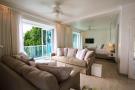 Living room sliding doors fan Footprints Barbados