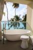 Bathroom bath tub ocean view sea Footprints Barbados